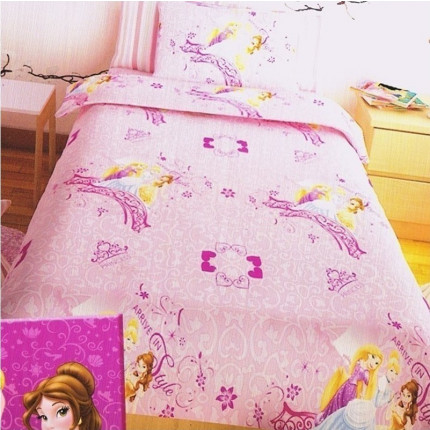 Σεντόνια Μονά (Σετ) Disney Princess Pink