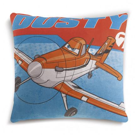 Διακοσμητικό Μαξιλάρι Δύο Όψεων 40X40 Dimcol Disney Planes 02 Ακουα