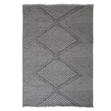 Χαλί Διαδρόμου All Season Royal Carpet Casa Cotton 0.67X1.40 - 22091 Black