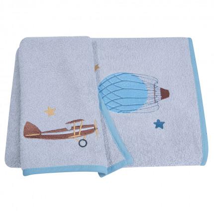 Παιδικές Πετσέτες (Σετ 2 Τμχ) Greenwich Polo Club 8811