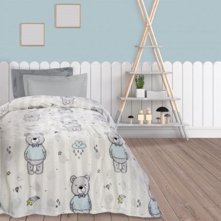 Κουβέρτα Fleece Μονή 160X220 Das Home 4767