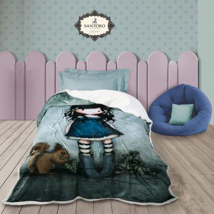 Κουβέρτα Fleece Μονή 160X220 Das Home Santoro 5032
