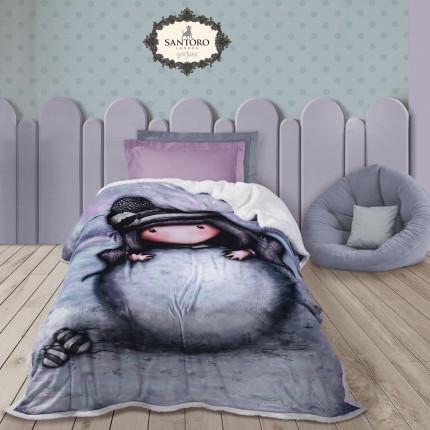 Κουβέρτα Fleece Μονή 160X220 Das Home Santoro 5033