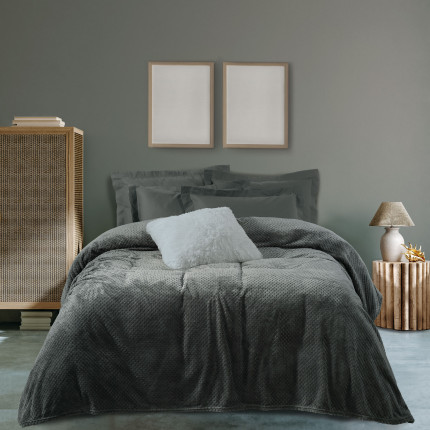 Κουβέρτα Fleece Μονή 160X220 Das Home 0469