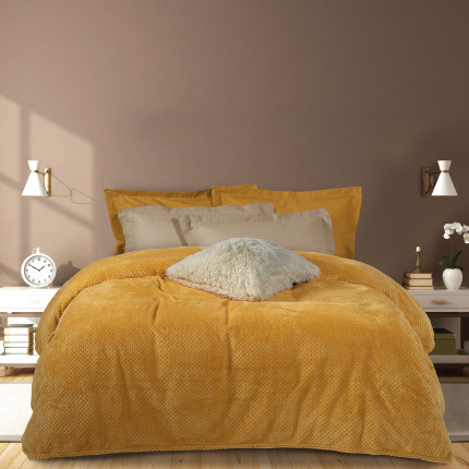 Κουβέρτα Fleece Υπέρδιπλη 220X240 Das Home 0466