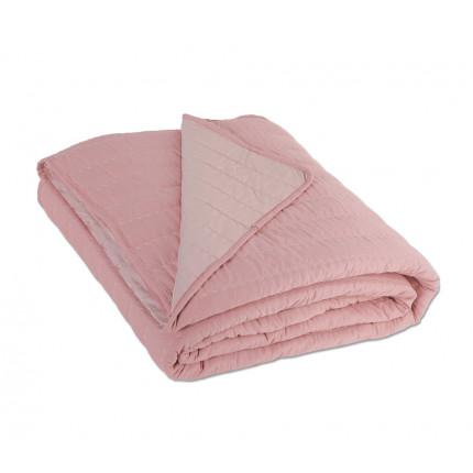 Κουβερλί Υπέρδιπλο 220x240 Nef Nef Bicolor D.Pink - L.Pink