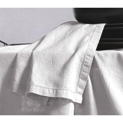 Πετσέτες Φαγητού 50x50 Nef Nef Cotton-Linen White