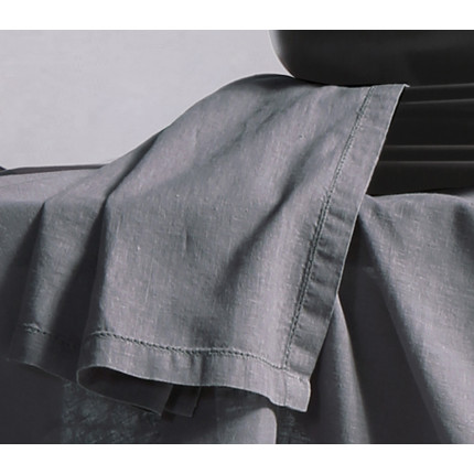 Πετσέτες Φαγητού 50x50 Nef Nef Cotton-Linen Grey