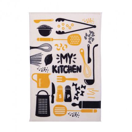 Ποτηρόπανο 40X60 Nef Nef My Kitchen Yellow