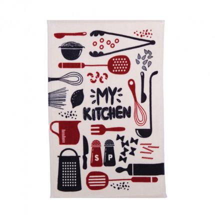 Ποτηρόπανο 40X60 Nef Nef My Kitchen Red