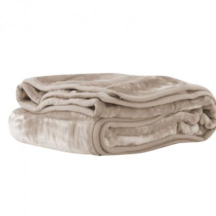 Κουβέρτα Βελουτέ Μονή 160X220 Nef Nef Loft 1107-Linen