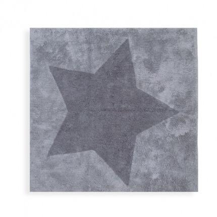 Παιδικό Χαλί 120X120 Nef Nef Junior Star Grey