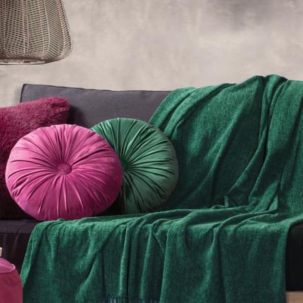 Κουβέρτα Καναπέ 130X160 Nef Nef Dorian Green