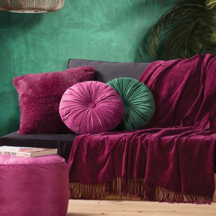 Κουβέρτα Καναπέ 130X160 Nef Nef Dorian Violet