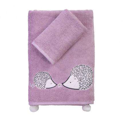 Παιδικές Πετσέτες (Σετ 2 Τμχ) Nef Nef Forest Friends Purple