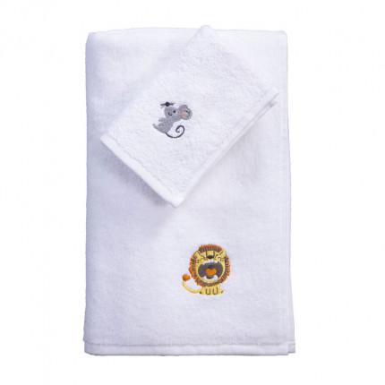 Παιδικές Πετσέτες (Σετ 2 Τμχ) Nef Nef We Will Survive White