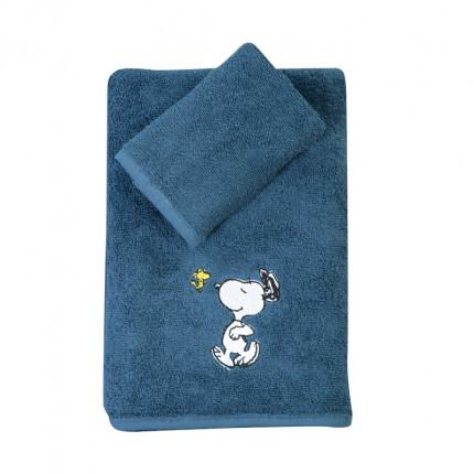 Παιδικές Πετσέτες (Σετ 2 Τμχ) Nef Nef Snoopy Enjoy Blue