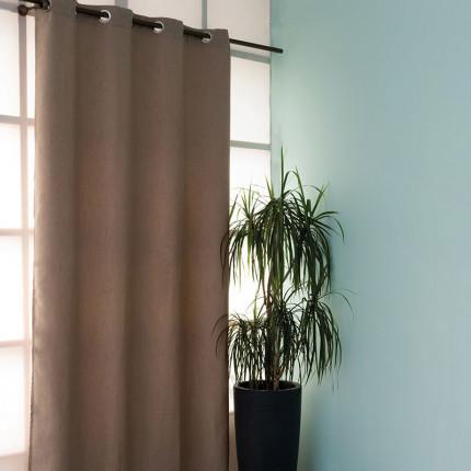 Κουρτίνα Με Τρουκς 140X260 Palamaiki Curtain Collection Kara Beige