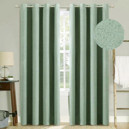Κουρτίνα Με Τρουκς 140X260 Palamaiki Curtain Collection Kara Mint