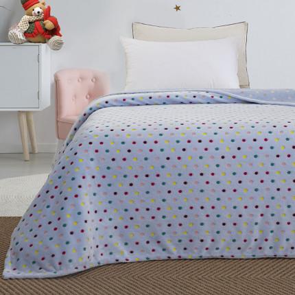 Κουβέρτα Fleece Μονή Palamaiki Luminous Collection 160X220 Bubble