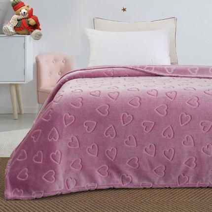 Κουβέρτα Fleece Μονή Palamaiki Luminous Collection 160X220 Sweetheart