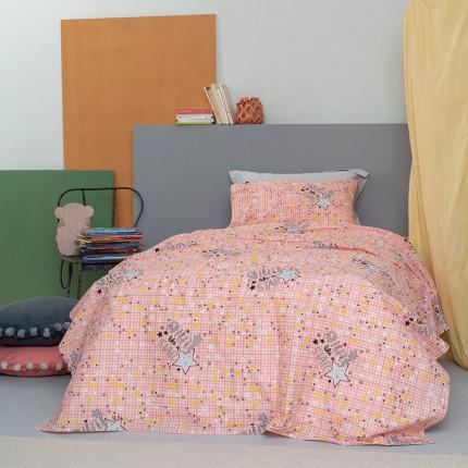Φωσφορίζε Κουρτίνα Με Τρέσα 170X260 Palamaiki Cluster Pink