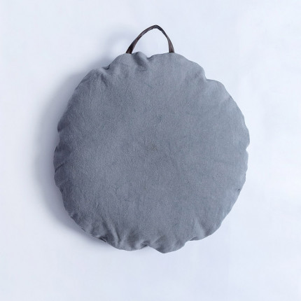 Μαξιλάρα Δαπέδου Φ60 Palamaiki Sol Grey