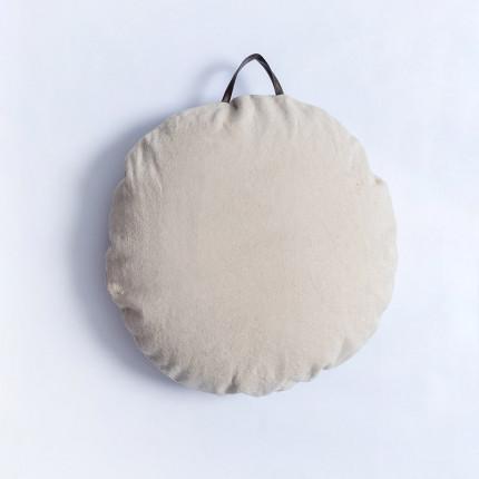 Μαξιλάρα Δαπέδου Φ60 Palamaiki Sol Ivory