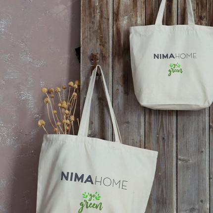 Τσάντα για ψώνια Nima 40x34x12