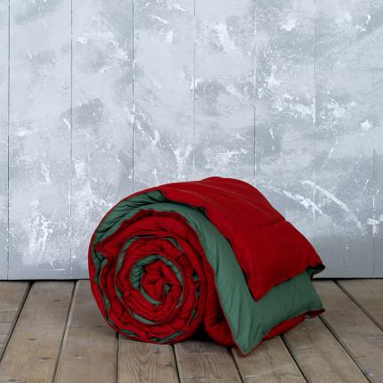 Πάπλωμα Μονό 160X240 Nima Abalone Red / Green