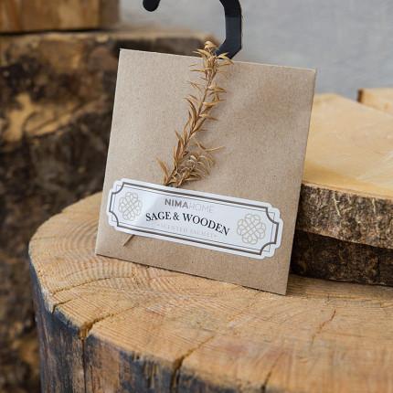 Αρωματικό Ντουλάπας 10gr - Nima Sage & Wooden