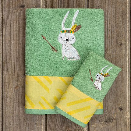 Παιδικές Πετσέτες (Σετ 2 Τμχ) Kocoon Kanuka