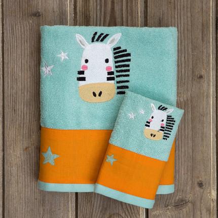 Παιδικές Πετσέτες (Σετ 2 Τμχ) Kocoon Zoofun