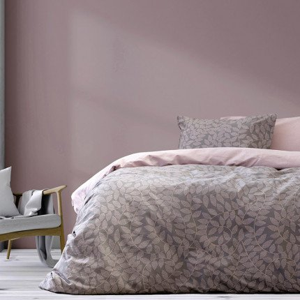 Παπλωματοθήκη Υπέρδιπλη (Σετ) 225X245 Kocoon Tristesse Pink