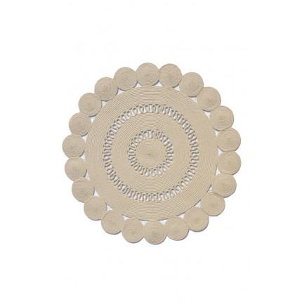 Χαλί Σαλονιού 160X160 Tzikas Carpets All Season Coral 55144-60