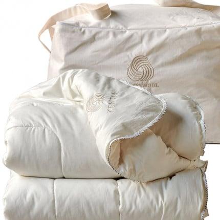 Πάπλωμα Λευκό King Size 260X240 Kentia Αccesories Lambswool Λευκό