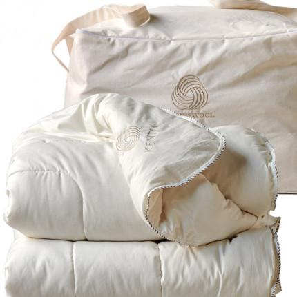 Πάπλωμα Λευκό Μονό 160X240 Kentia Αccesories Lambswool Λευκό