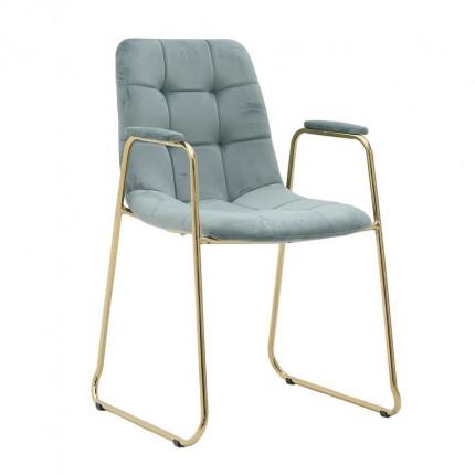 Βελούδινη Καρέκλα Inart 3-50-224-0007