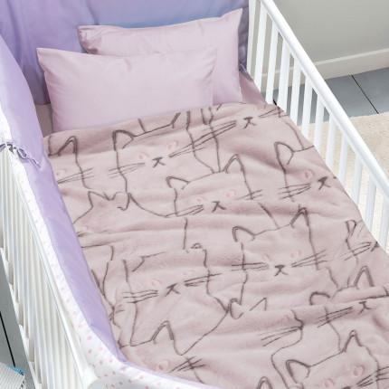Κουβέρτα Fleece 80X110 Das Home Relax 4735