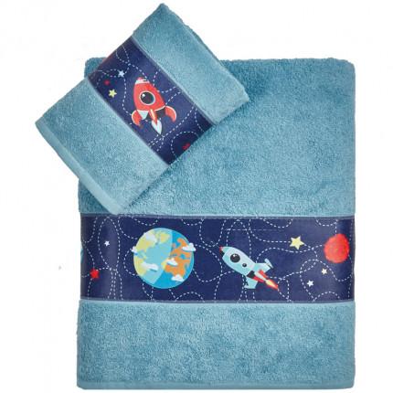 Παιδικές Πετσέτες (Σετ 2 Τμχ) Kentia Mars