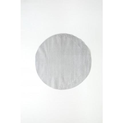 Χαλί Σαλονιού Φ120 Ezzo All Season Chroma 8216Aj8 Light Grey
