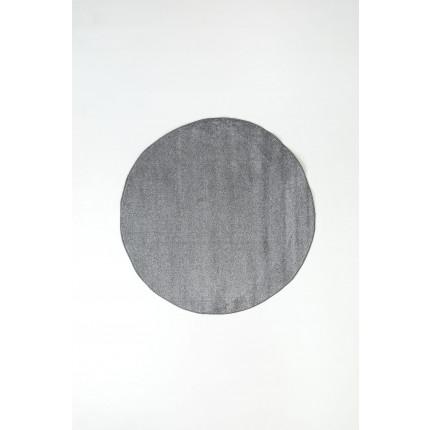Χαλί Σαλονιού Φ120 Ezzo All Season Chroma 8216Bj8 Dark Grey & Light Grey