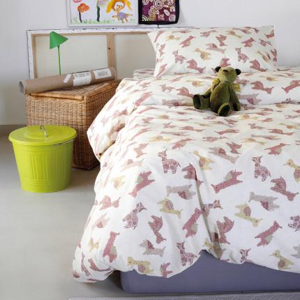 Μαξιλαροθήκες Ζεύγος 50X70 Melinen Animal Girl