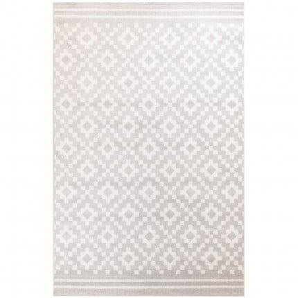 Χαλιά Κρεβατοκάμαρας (Σετ 3 Τμχ) Ezzo All Season Chroma B528Aj8 Light Grey & Cream