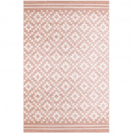 Χαλιά Κρεβατοκάμαρας (Σετ 3 Τμχ) Ezzo All Season Chroma B528Aj8 Pink & Cream