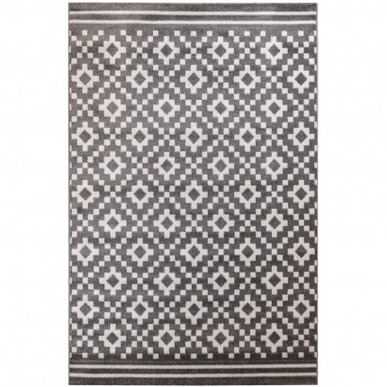Χαλιά Κρεβατοκάμαρας (Σετ 3 Τμχ) Ezzo All Season Chroma B528Bj8 Dark Grey & Light Grey