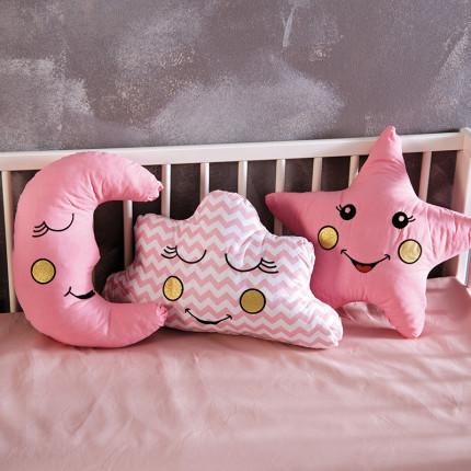 Διακοσμητικά Μαξιλάρια (Σετ 3 Τμχ) Sb Home Baby Deco Pillows Pink