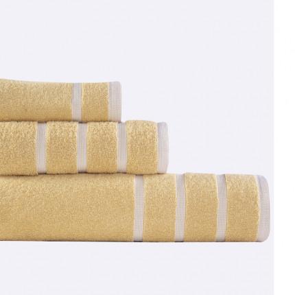 Πετσέτες Μπάνιου (Σετ 3 Τμχ) Madison Nef Nef Yellow/White