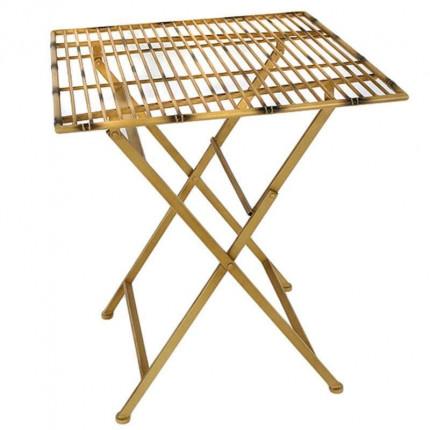Πτυσσόμενο Τραπέζι Inart 3-50-207-0100