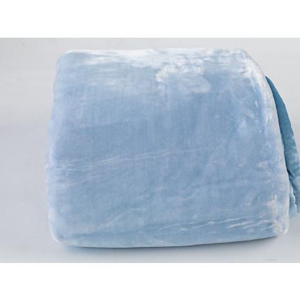 Κουβέρτα Βελουτέ Υπέρδιπλη 220x240 Dream Velour Palamaiki Dream Velour Ciel